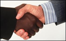 Handshake, accepting a offer on your home